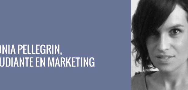Sonia Pellegrin, étudiante en marketing