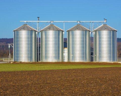 Des silos