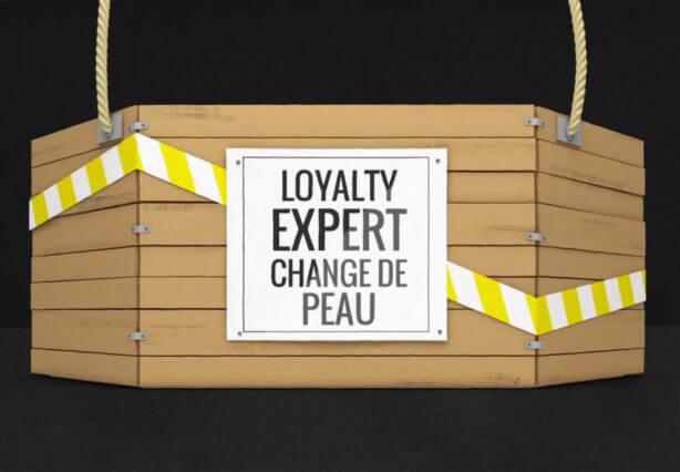 Annonce Loyalty Expert fait peau neuve
