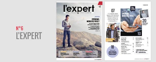 magazine l'Expert