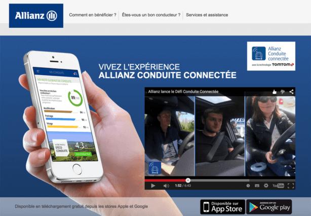 Allianz, conduite connectée