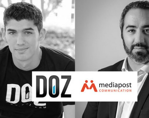 doz mediapost start up versus grand groupe