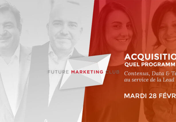 Acquisition client BtoB future marketing club