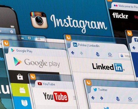 infographie social media temps réel