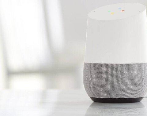 L'enceinte Google Home