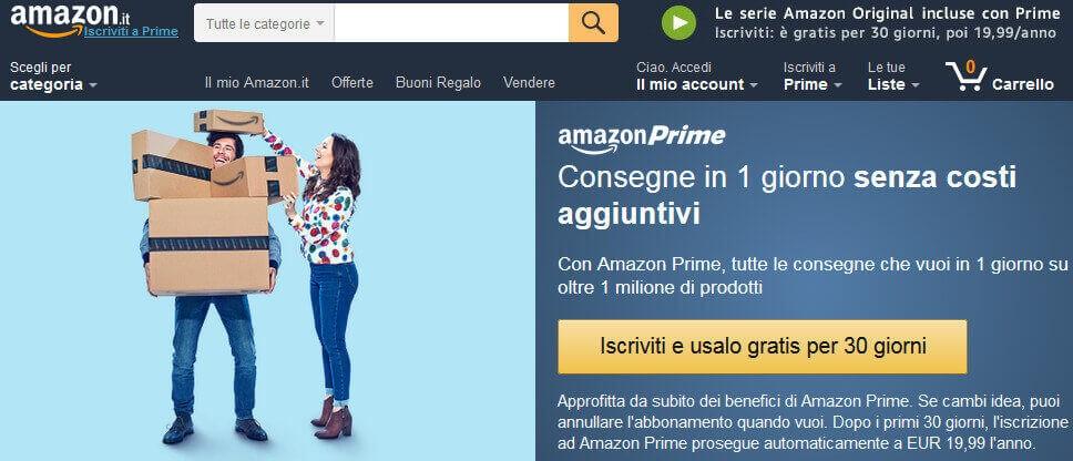 Programma Amazon Prime