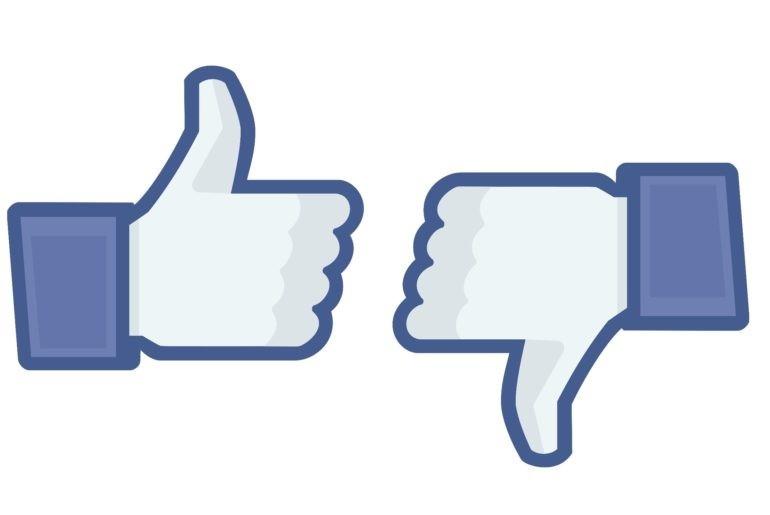 Facebook Unlike