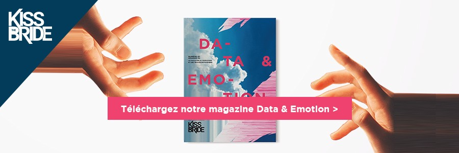 Banniere premier numero magazine data et emotion influencia