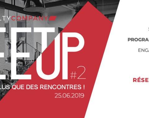 MeetUp #2 fidélisation