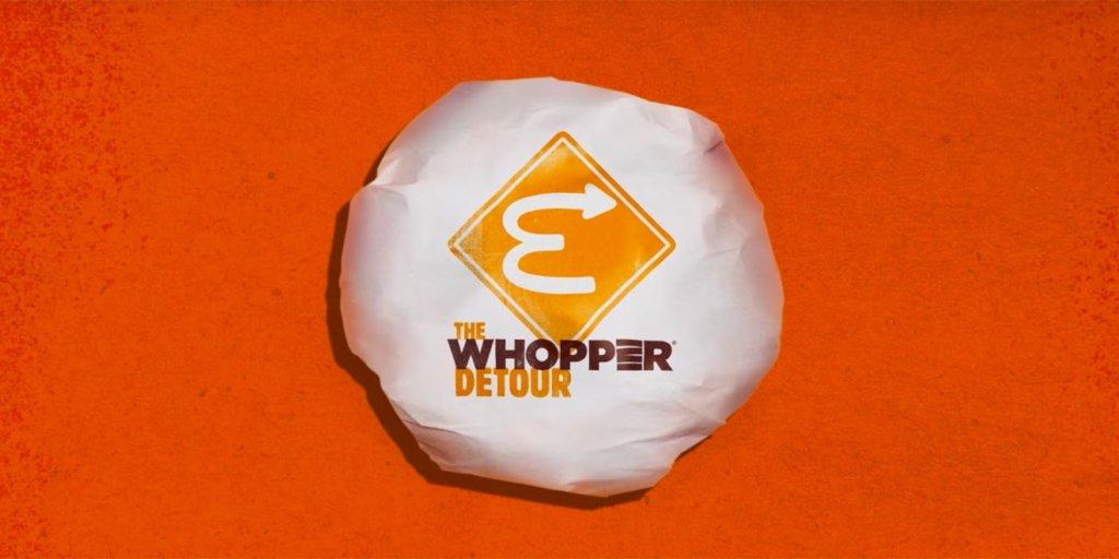 Campagne publicitaire The Whopper Detour