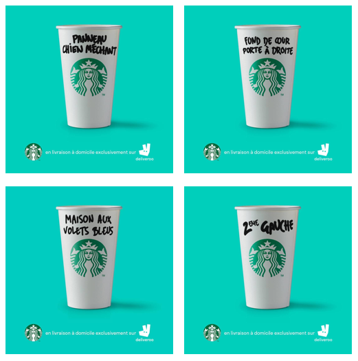 Campagnes créa Starbuck